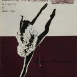 Program Cover, Tchaikovsky and his Ballets